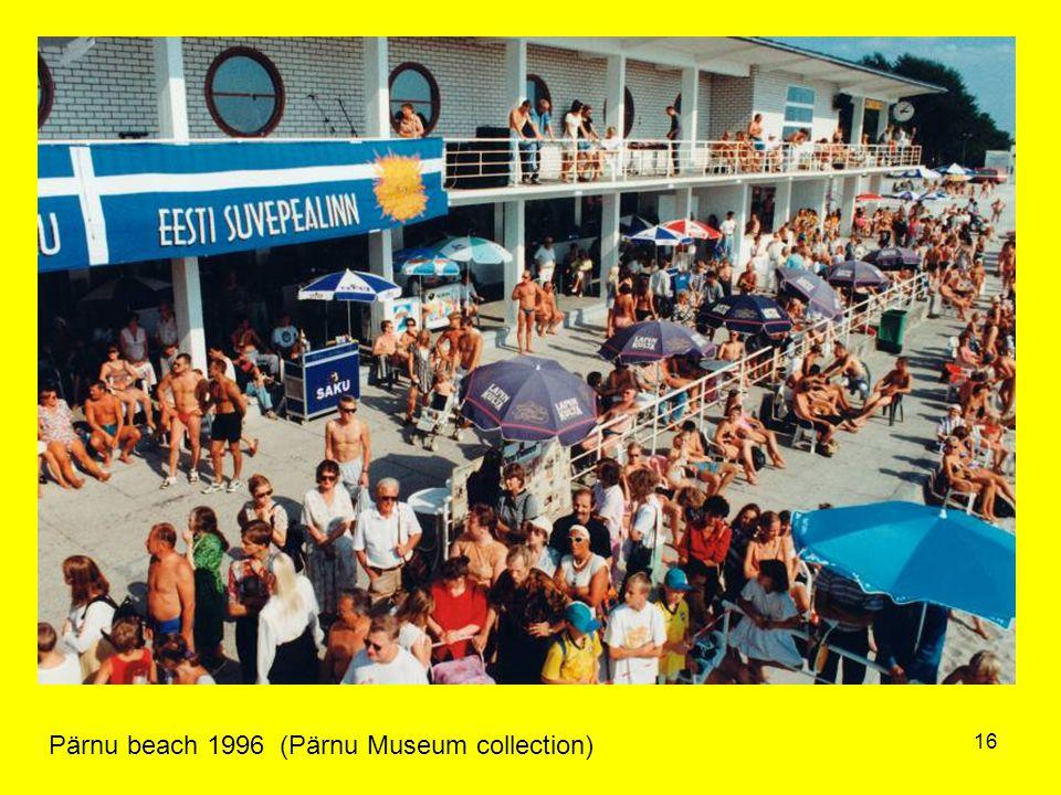 16 Pärnu beach 1996 (Pärnu Museum collection)