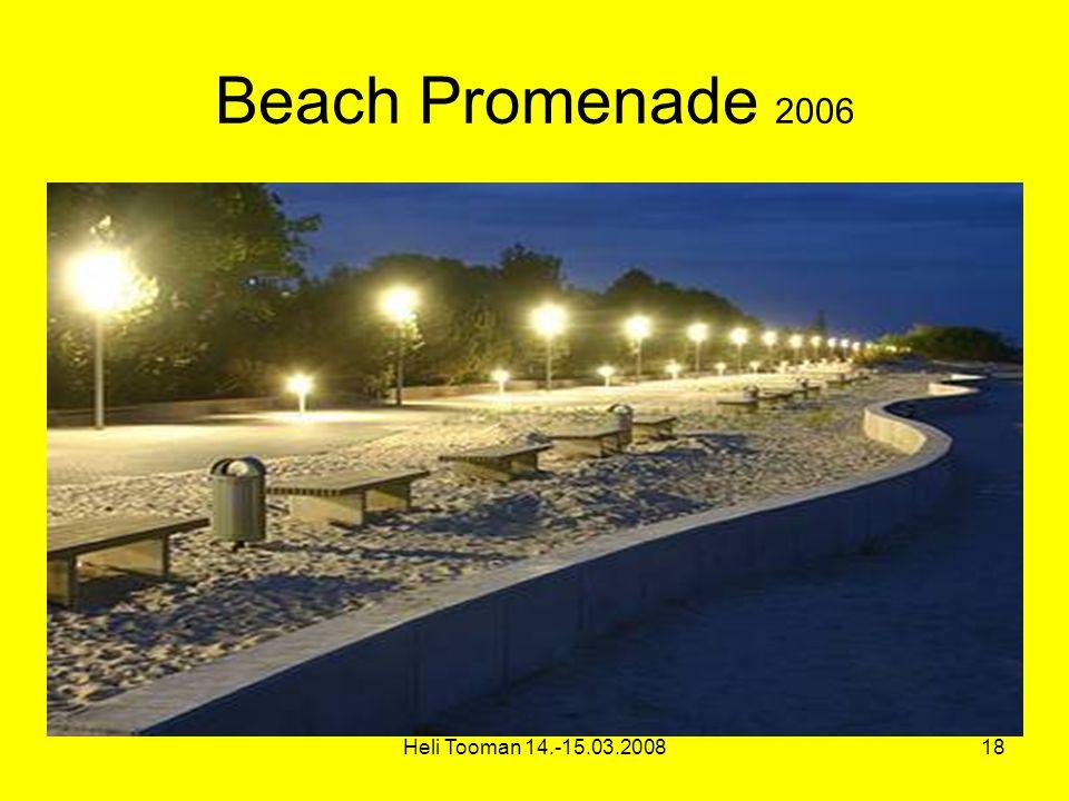 Heli Tooman 14.-15.03.200818 Beach Promenade 2006