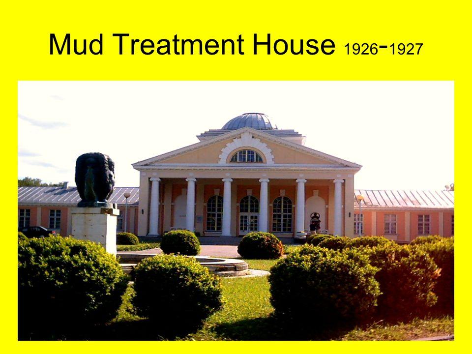 Heli Tooman 14.-15.03.200819 Mud Treatment House 1926 - 1927