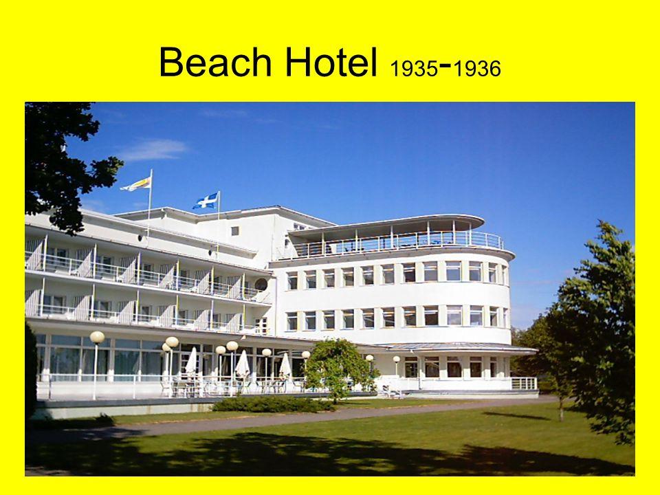 Heli Tooman 14.-15.03.200820 Beach Hotel 1935 - 1936