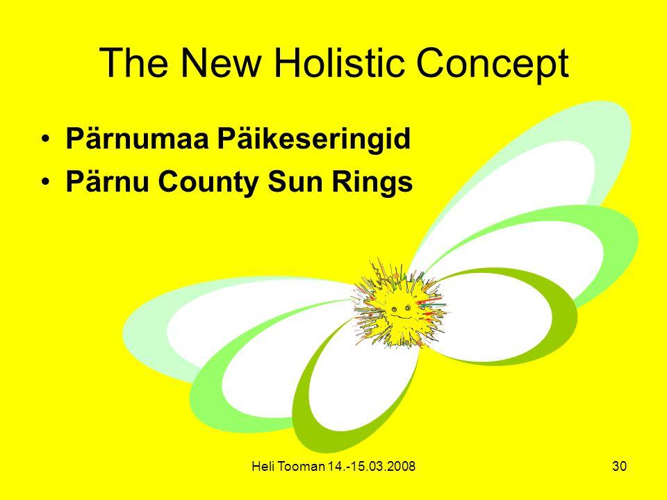 Heli Tooman 14.-15.03.200830 The New Holistic Concept Pärnumaa Päikeseringid Pärnu County Sun Rings