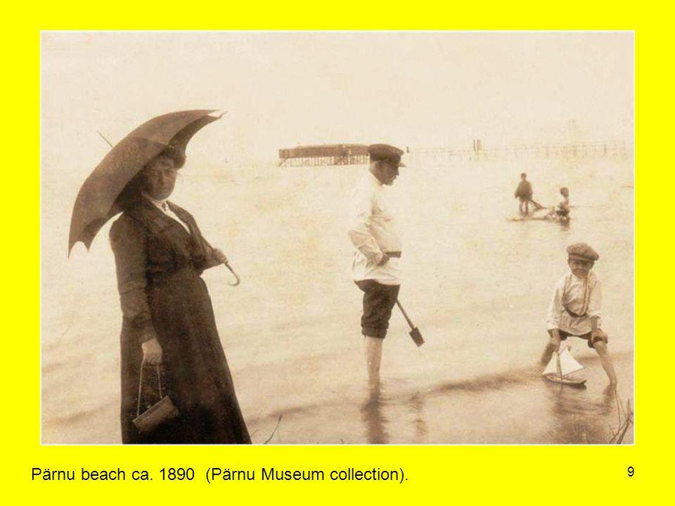 9 Pärnu beach ca. 1890 (Pärnu Museum collection).