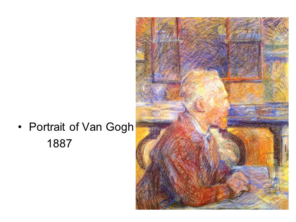Portrait of Van Gogh 1887