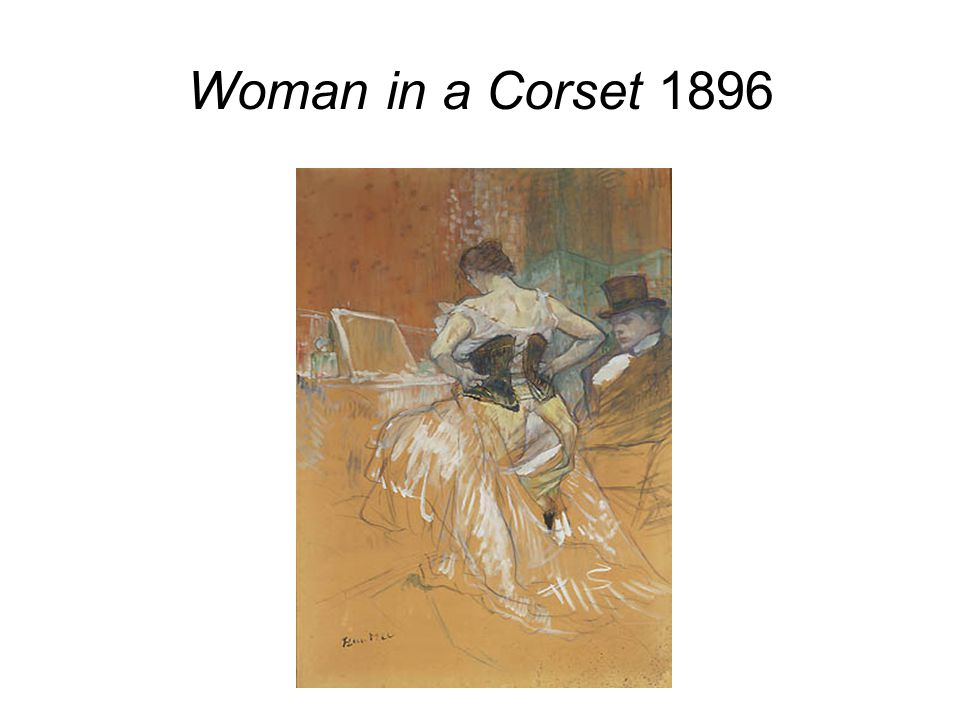 Woman in a Corset 1896
