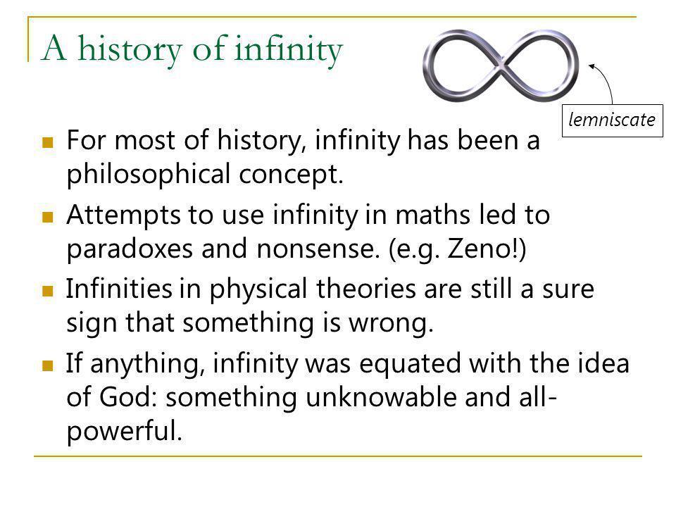 An infinite universe.
