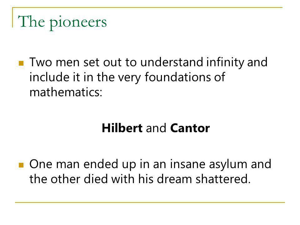 Hilberts tombstone On Hilberts tombstone were carved the words Wir müssen wissen.