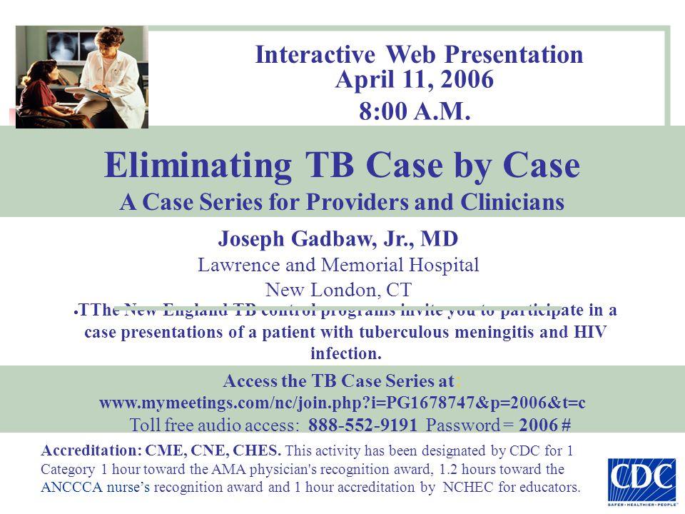 Interactive Web Presentation April 11, 2006 8:00 A.M.