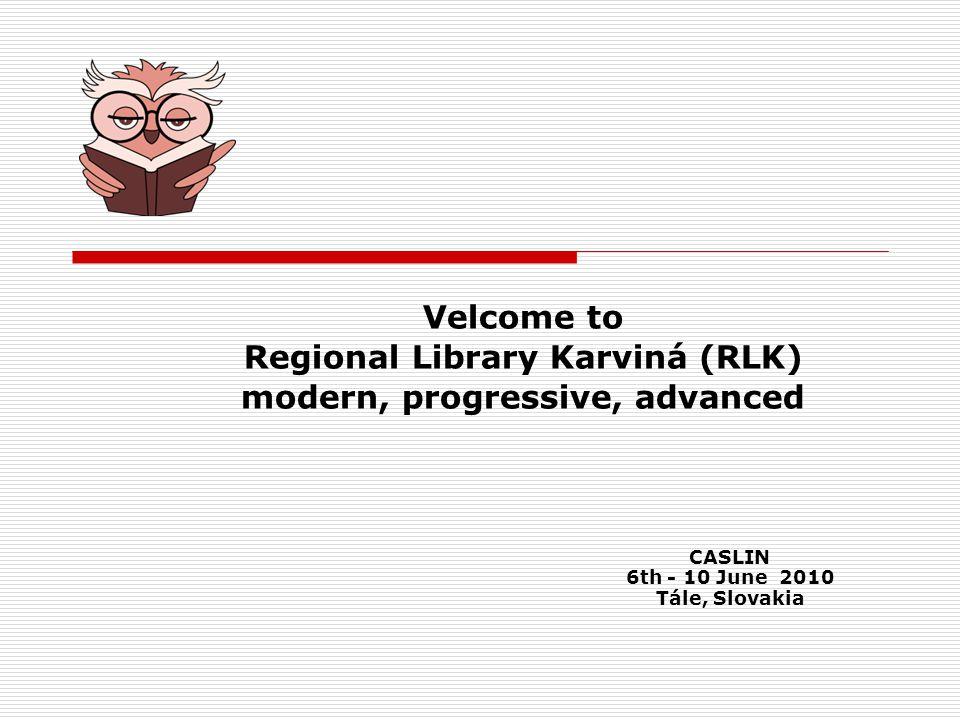 Facebook and RLK - Regional Library Karviná works on Facebook from summer 2009.