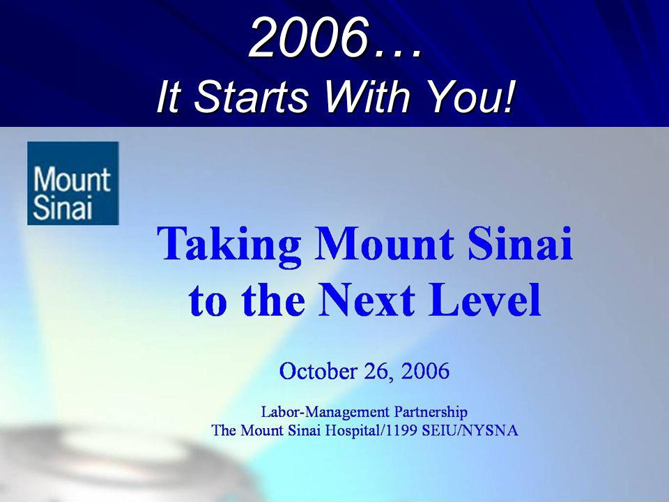 2006… It Starts With You!