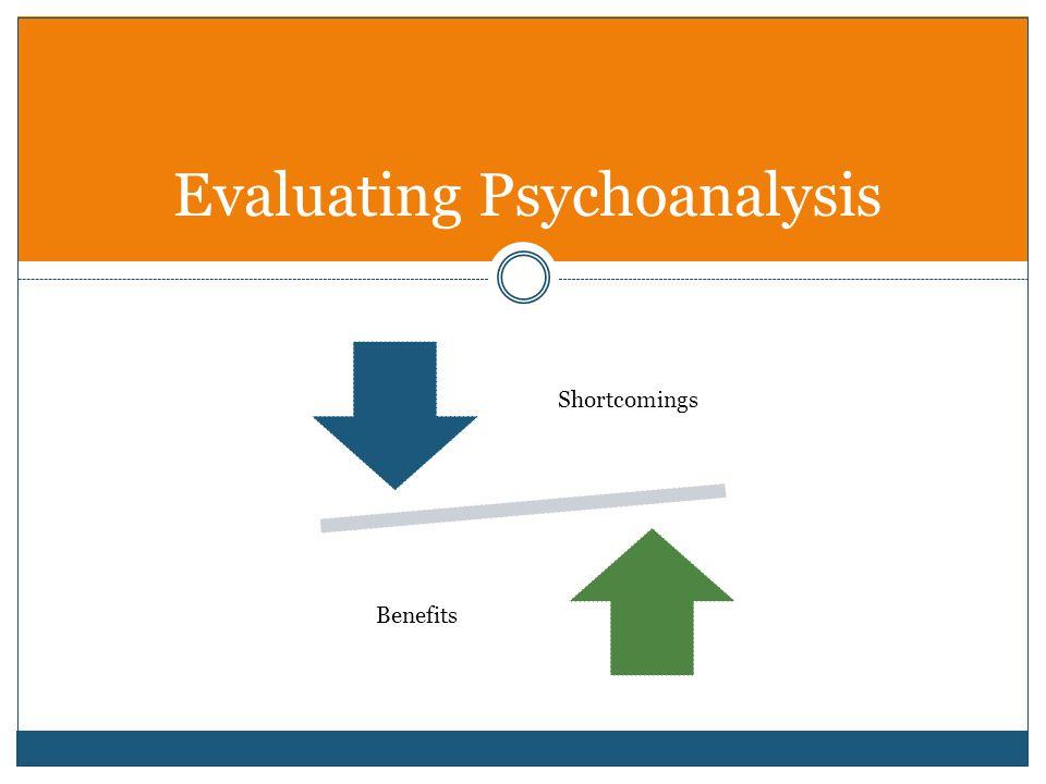 Evaluating Psychoanalysis Shortcomings Benefits