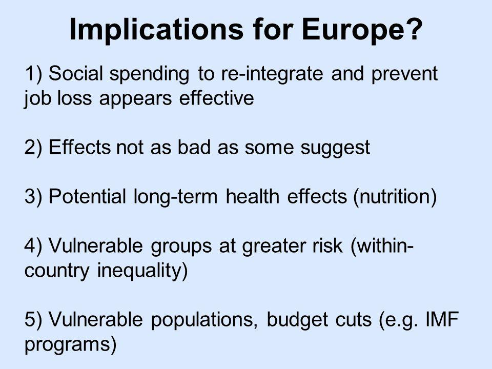 Implications for Europe.