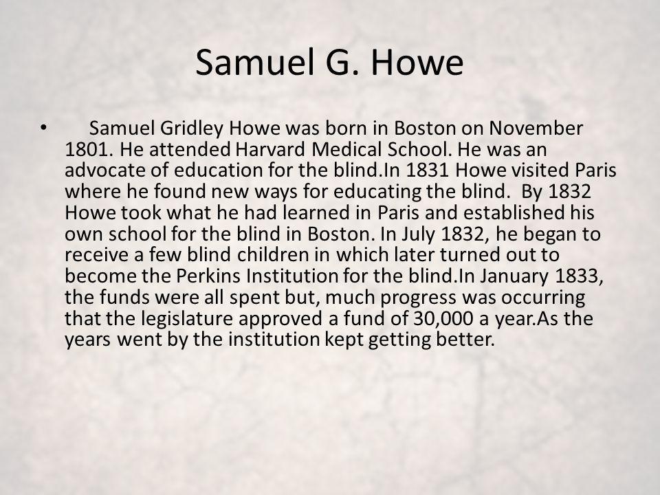 Samuel G. Howe