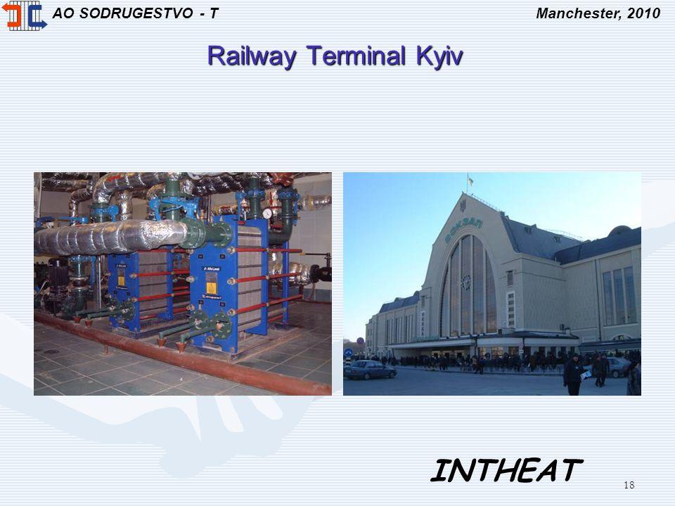 AO SODRUGESTVO - TManchester, 2010 INTHEAT 18 Railway Terminal Kyiv