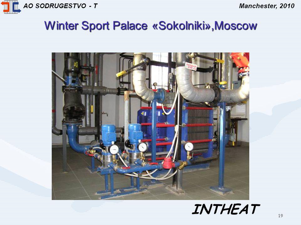 AO SODRUGESTVO - TManchester, 2010 INTHEAT 19 Winter Sport Palace «Sokolniki»,Moscow