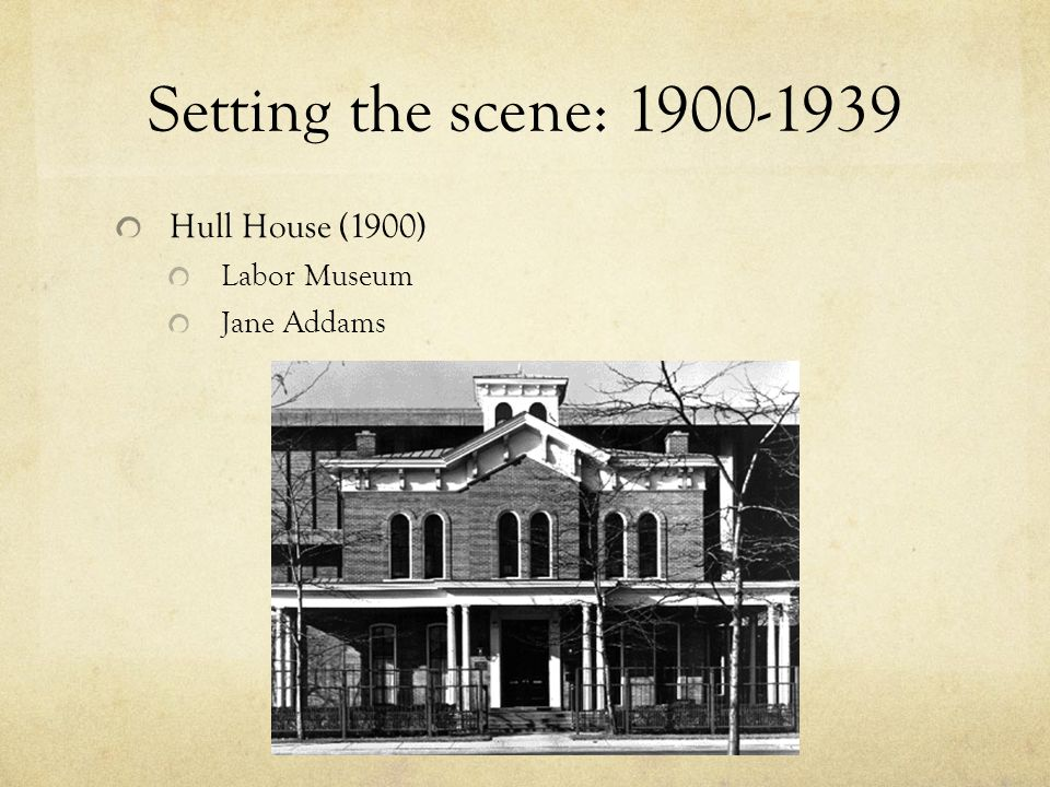 Setting the Scene: 1900-1939 WWI (1914-1918)