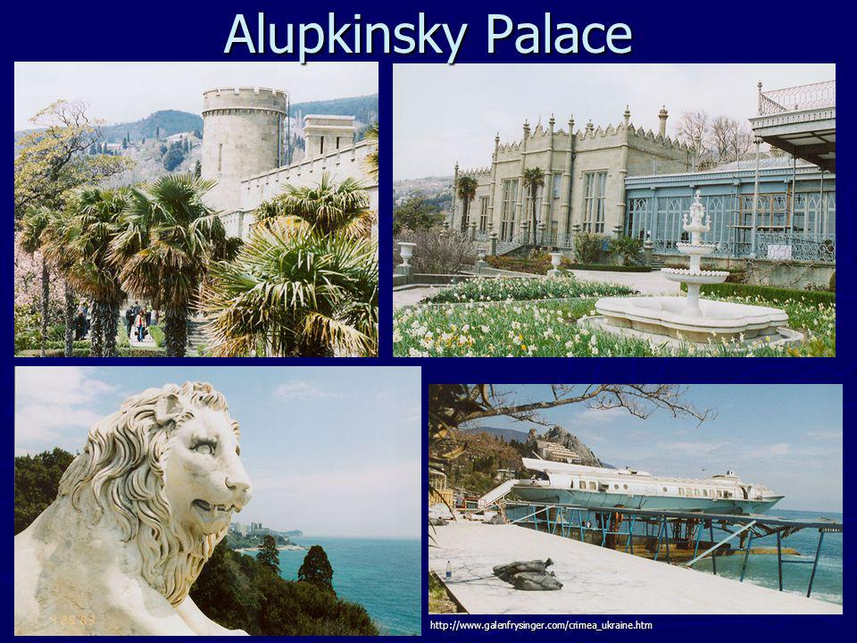 Alupkinsky Palace http://www.galenfrysinger.com/crimea_ukraine.htm