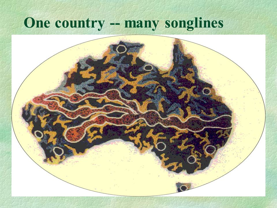 12 One country -- many songlines