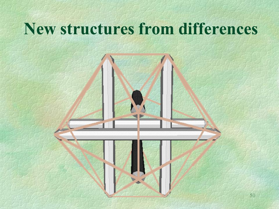 50 New structures from differences