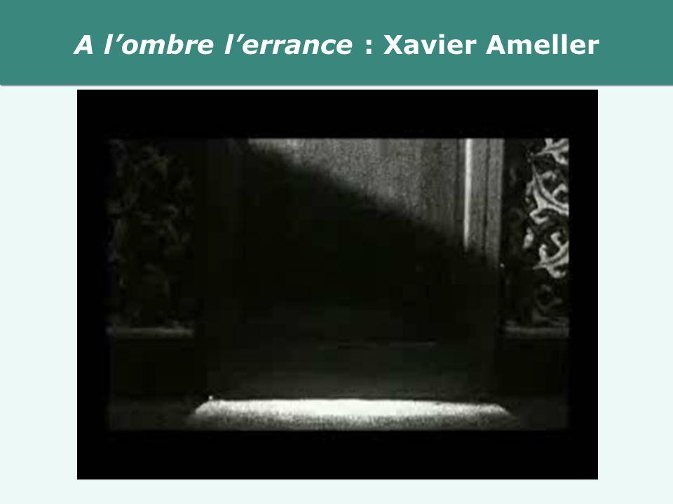 A lombre lerrance : Xavier Ameller