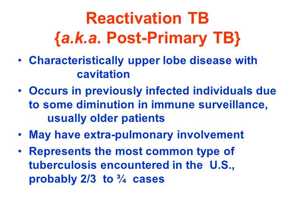 Reactivation TB {a.k.a.