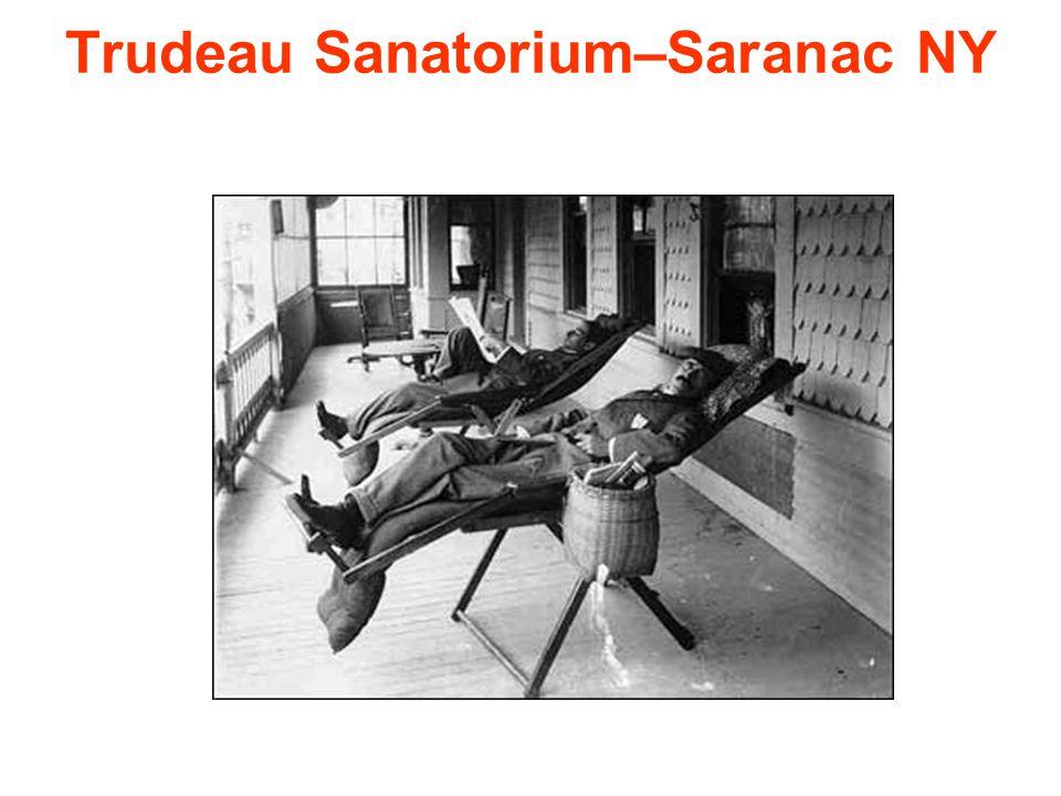 Trudeau Sanatorium–Saranac NY
