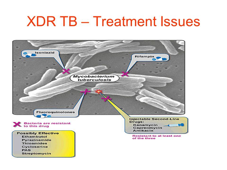 XDR TB – Treatment Issues