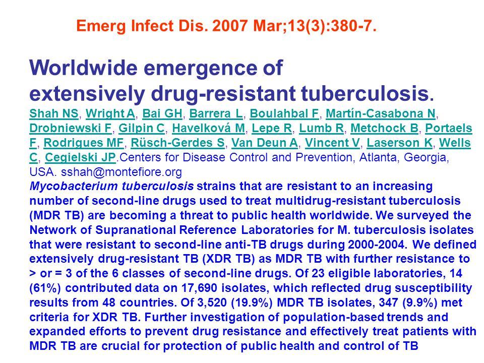 Emerg Infect Dis.2007 Mar;13(3):380-7.