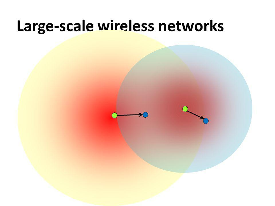 Large-scale wireless networks