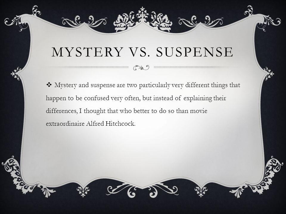 MYSTERY VS.