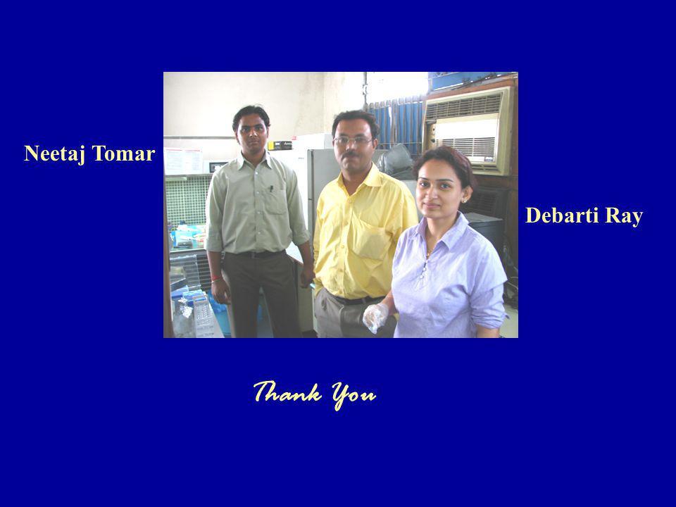 Thank You Neetaj Tomar Debarti Ray