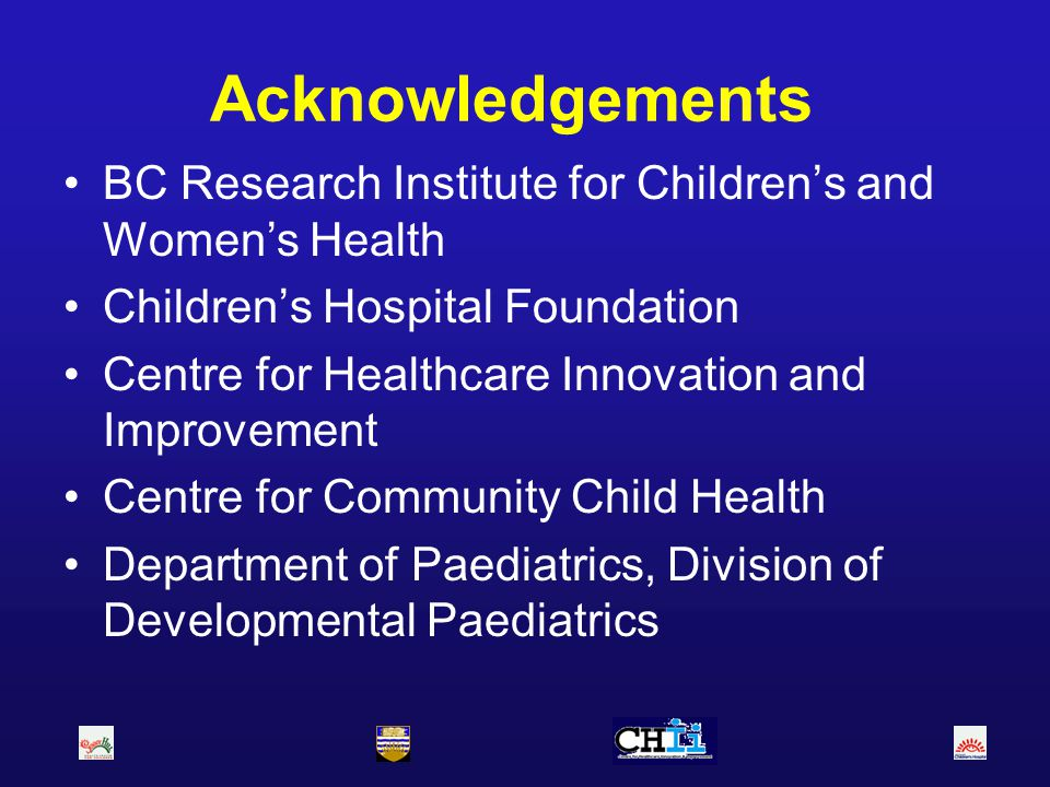 Health care services for children with developmental disabilities 1.Statement of the problem 2.Background Definitions of disability Incidence and target populations Organization of special needs school services and law 3.Research issues: outcome measures 4.Proposal for research program
