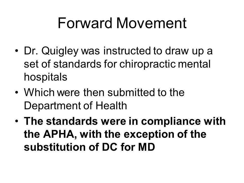 Forward Movement Dr.
