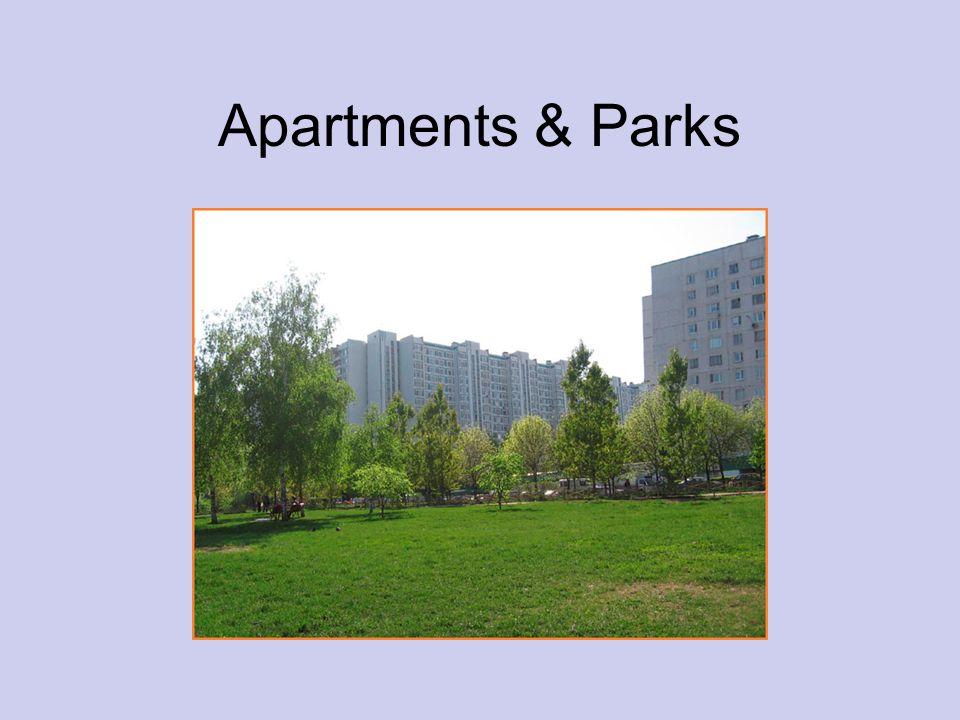 Apartments & Parks