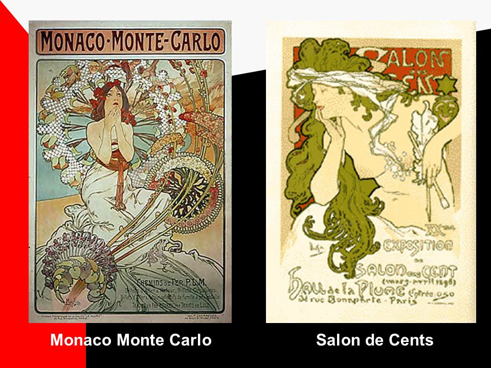 Have a look at some of Alphonse Muchas work… Ill bet you recognize the Art Nouveau style...