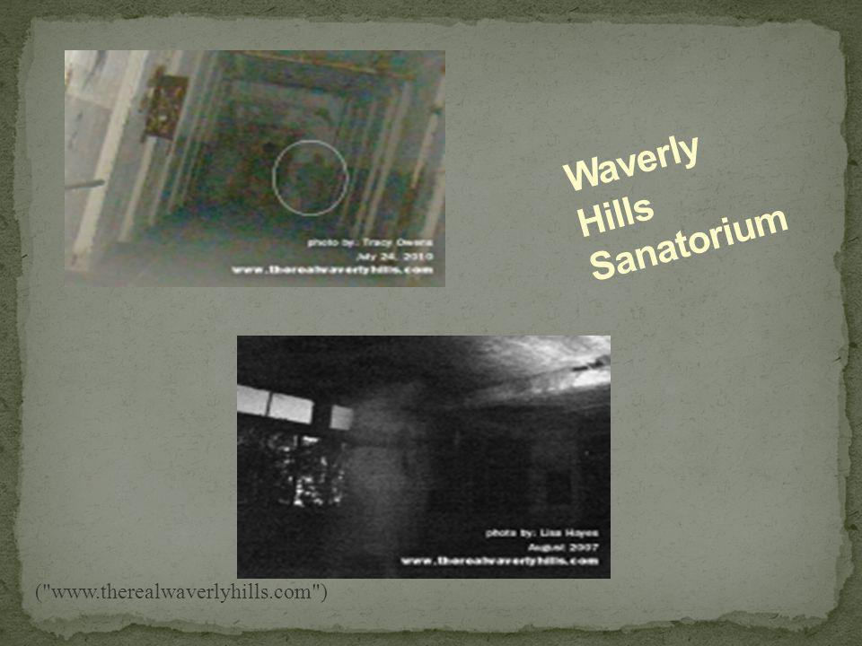 The Waverly Hills Sanatorium began with a two-story frame building, with a hipped roof and half timbering. Construction on this building began in 1908