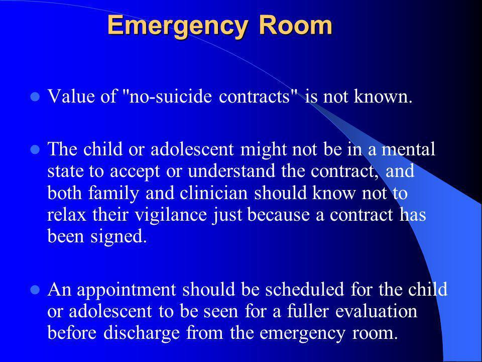 Emergency Room Value of