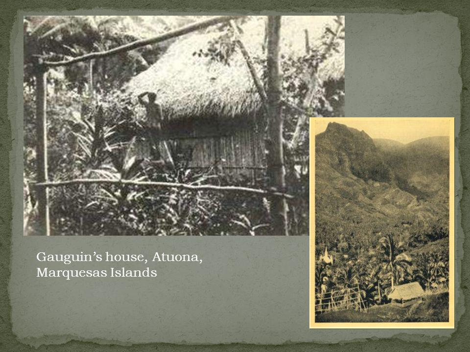 Gauguins house, Atuona, Marquesas Islands