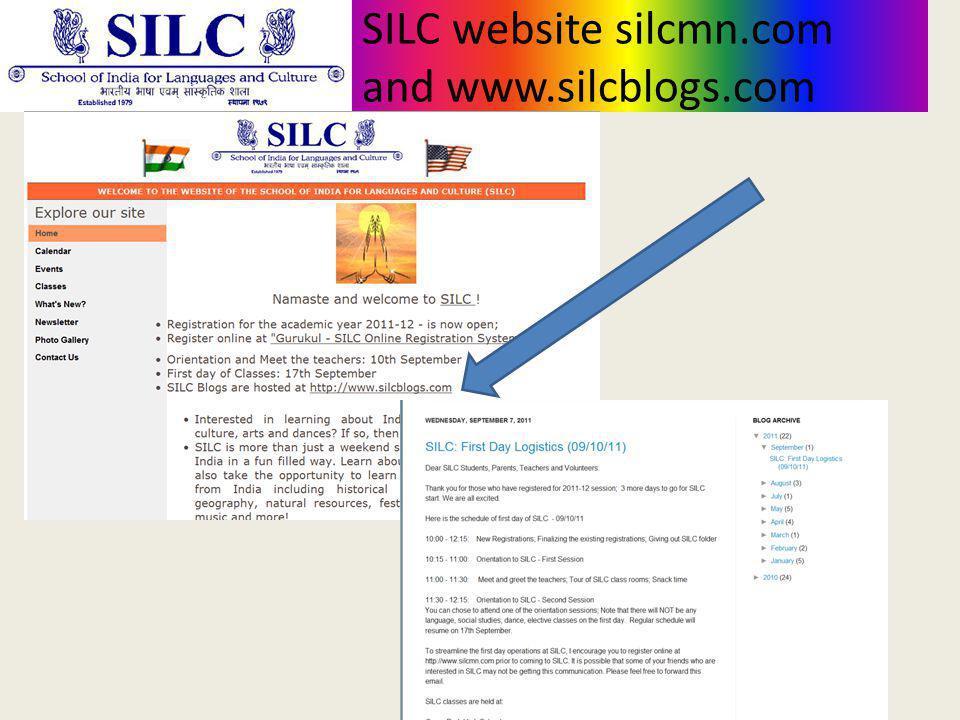 SILC website silcmn.com and www.silcblogs.com