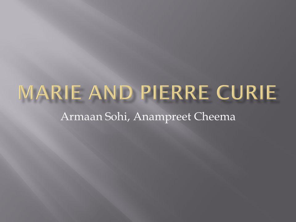 Armaan Sohi, Anampreet Cheema