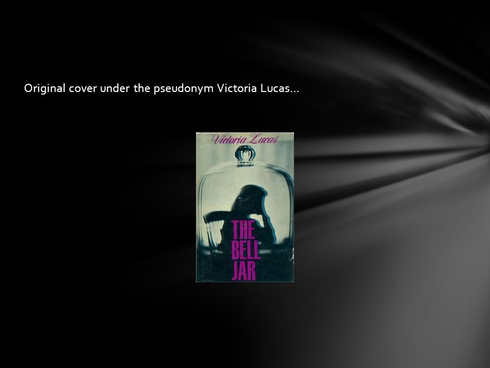 Original cover under the pseudonym Victoria Lucas…