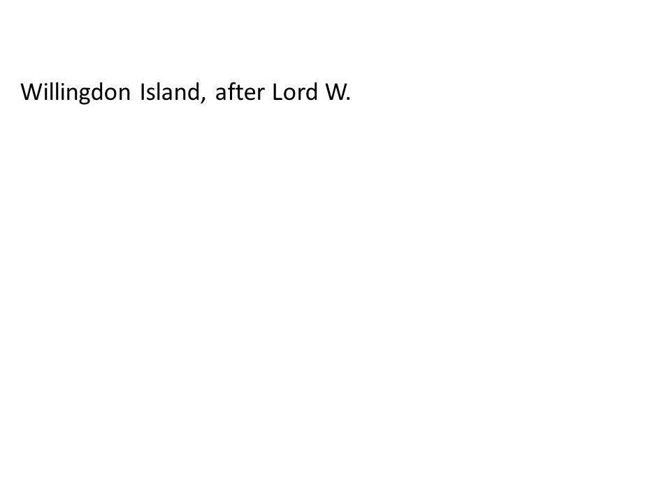 Willingdon Island, after Lord W.