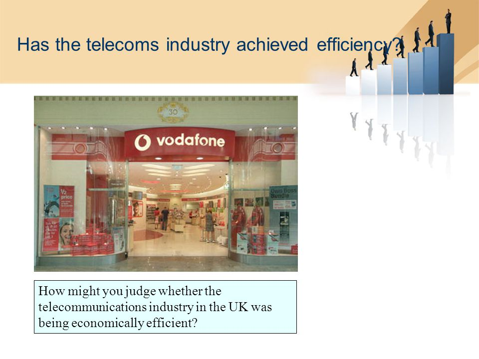 Has the telecoms industry achieved efficiency.