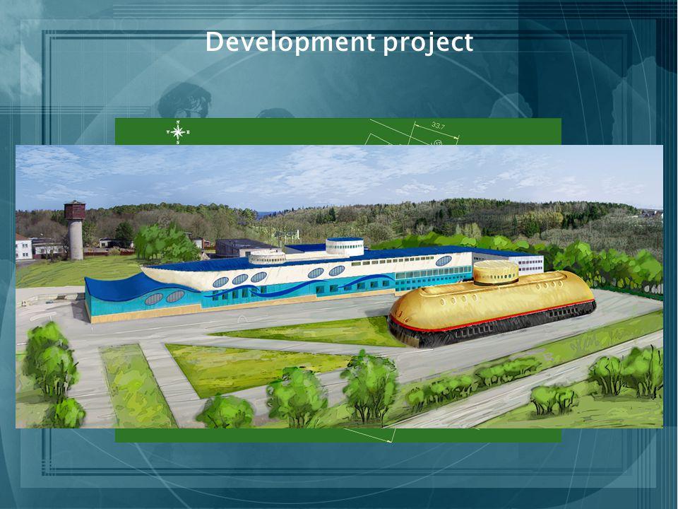 Development project Entertainment Euro-hostel Services Museum