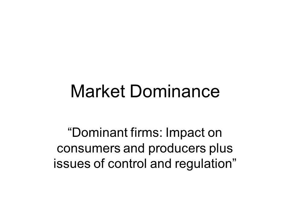 When looking at the necessary level of market dominance required, it is clear that the dominance does not need to be complete in order to foster interoperability; it simply has to be an undeniable victory over a material chunk of the market.