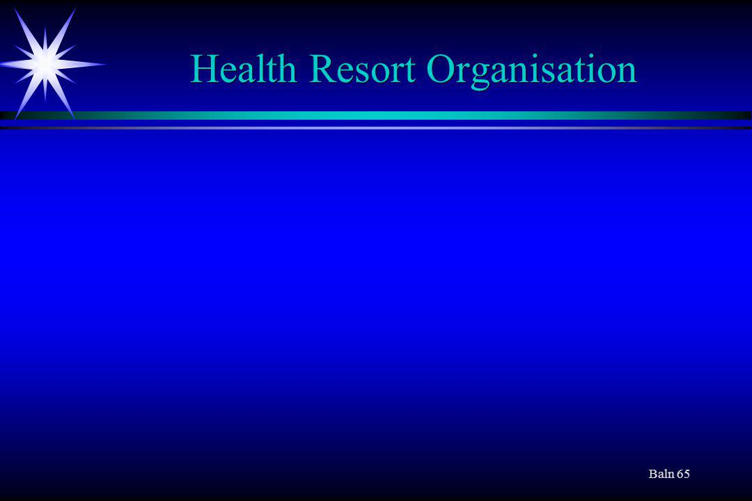 Baln 65 Health Resort Organisation