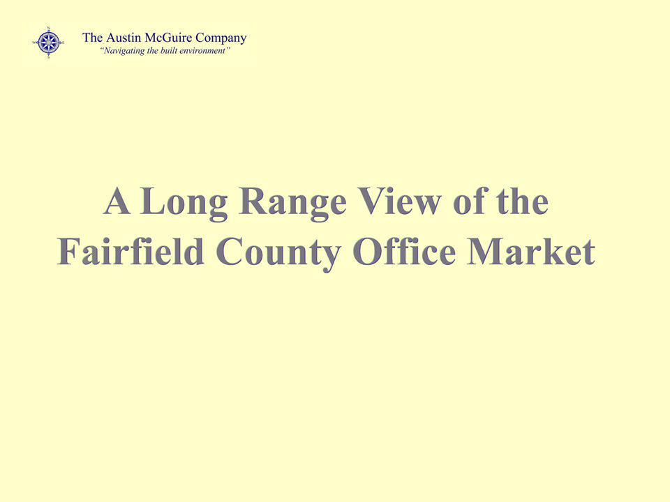 Forecasted County Vacancy Rates Now add the proposed space additions in: Norwalk & Fairfield Market Equilibrium 2012