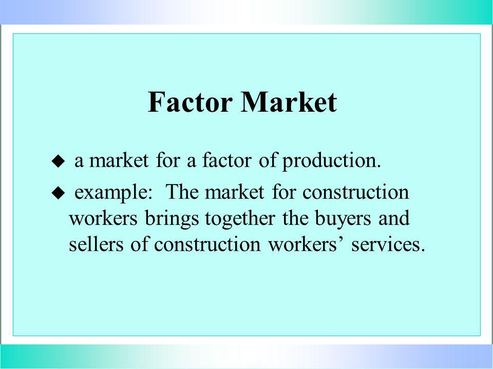 A Firms Demand Curve for Labor $ labor 0 10 20 30 40 50 60 70 70 60 50 40 30 20 10 demand curve for labor