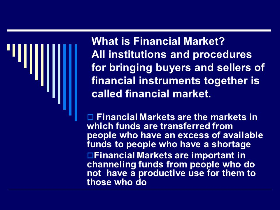 Why Study Financial Institutions.