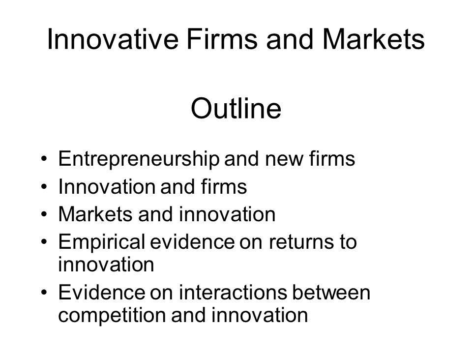 Entrepreneurship and new firms Some basic questions: Inventors – what do they do.