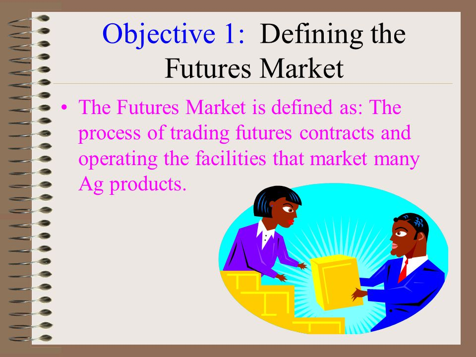 Objective 1: Defining the Futures Market